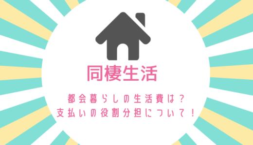 都会暮らしの同棲にかかる生活費はどのくらい?お互いの分担についても紹介!
